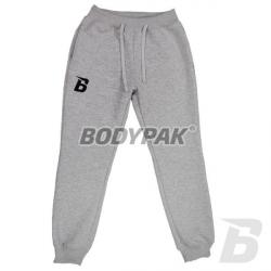 BODYPAK Spodnie z haftem [B] SZARE - 1 szt.