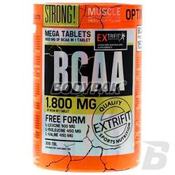 Extrifit BCAA 1800mg 2:1:1 - 300 tabl.