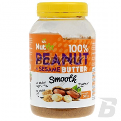 Ostrovit NutVit 100% Peanut + Sesame Butter - 500g