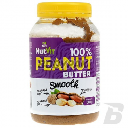 Ostrovit NutVit 100% Peanut Butter Smooth - 500g