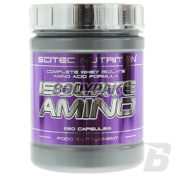 Scitec Isolate Amino - 250 kaps.