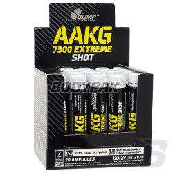 Olimp AAKG 7500 Extreme Shot - 20x25ml