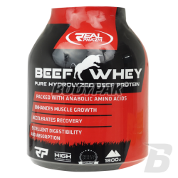 Real Pharm Beef Whey 85% - 1800g