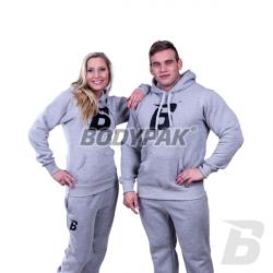 Bodypak Dres Szary (bluza + spodnie el z haftem) – 1 komplet