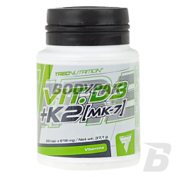 Trec Vitamin D3+K2 (MK-7) - 60 kaps.