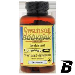 Swanson PureWay-C 500mg - 90 kaps.