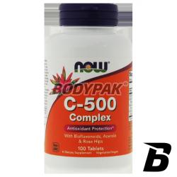 NOW Foods Vitamin B-100 - 100 kaps.