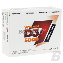7Nutrition Vitamin D3 5000 - 120 kaps.