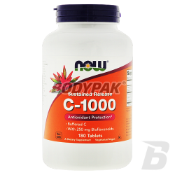 NOW Foods Vitamin C-1000 Complex - 180 tabl.