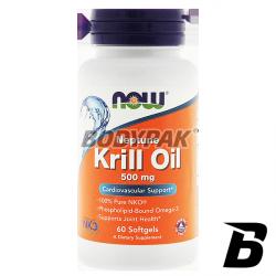 NOW Foods Krill Oil Neptune 500mg - 60 kaps.