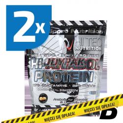 Hi Tec Hi-Anabol Protein - 2x 1kg