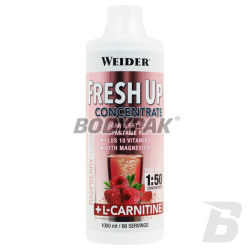 Weider Fresh Up Concentrate + L-Carnitine - 1000ml