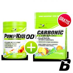 SportDefinition PumpKick - 450g + Carbonic - 1kg GRATIS