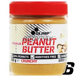 Olimp Premium Peanut Butter Crunchy - 350g