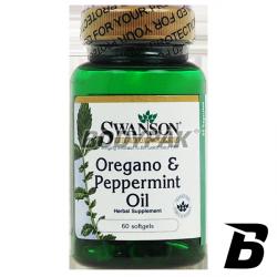 Swanson Oregano & Peppermint Oil - 60 kaps.