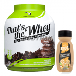 Sport Definition That's The Whey - 2,27kg + Sauce ZERO [Thousand Islands] - 320ml GRATIS