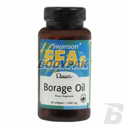 Swanson Borage Oil - 60 kaps.