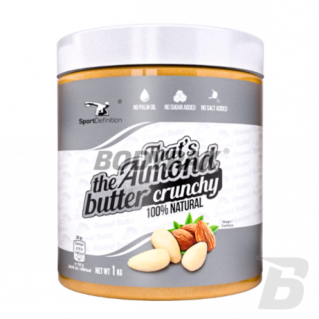 Sport Definition That's the Almond Butter Crunchy - 1000g