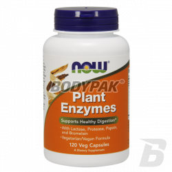 NOW Foods Plant Enzymes - 120 kaps.