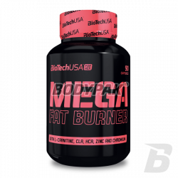 BioTech Mega Fat Burner [FOR HER] - 90 tabl.