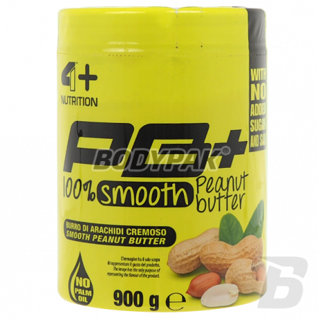 FOURPLUS 4+ Peanut Butter Smooth - 900g
