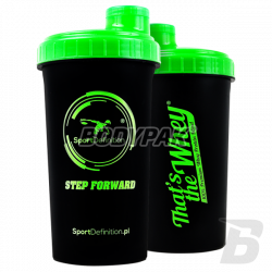 """Sport Definition shaker """"That's The Whey"""" [black] 700ml"""