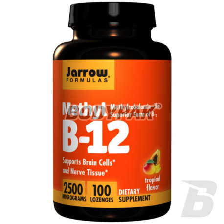 Jarrow Methyl B-12 2500mcg - 100 kaps.