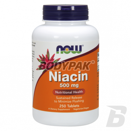 NOW Foods Niacin - 250 tabl.