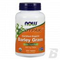 NOW Foods Barley Grass 500mg - 250 tabl.