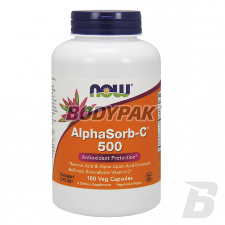 NOW Foods AlphaSorb-C 500mg - 180 kaps.