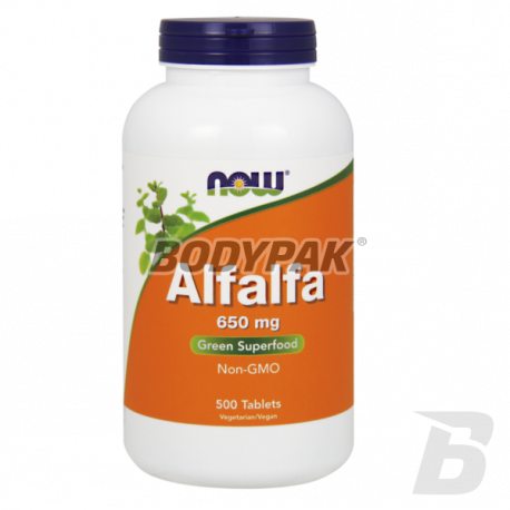 NOW Foods Alfalfa 650mg - 500 tabl.