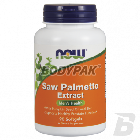 NOW Foods Saw Palmetto Extract - 90 kaps.
