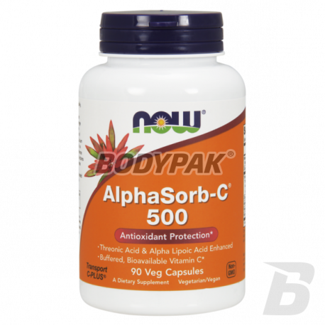 NOW Foods AlphaSorb-C 500mg - 90 kaps.