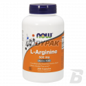 NOW Foods L-Arginine 500mg - 250 kaps.