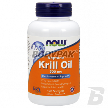 NOW Foods Krill Oil Neptune 500mg - 120 kaps.