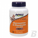 NOW Foods Glucosamine & MSM - 90 kaps.