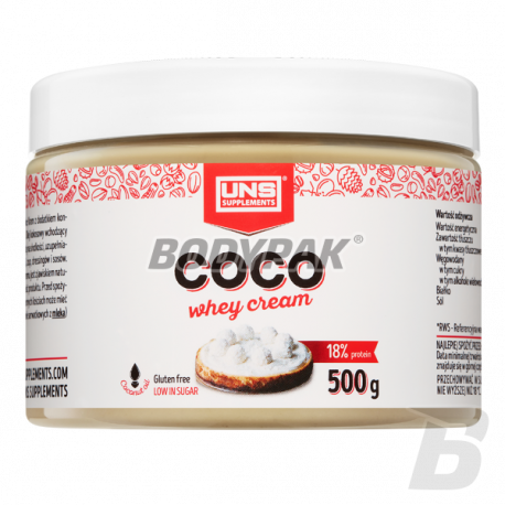 UNS COCO WHEY CREAM - 500g