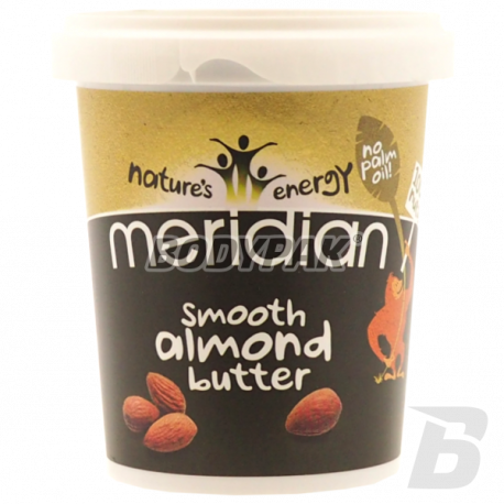 Meridian Natural Almond Butter Smooth - 454g