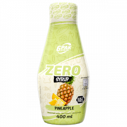 6PAK Nutrition Syrup ZERO PINEAPPLE - 400ml