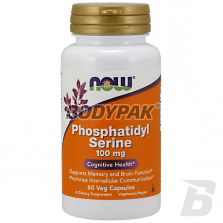 NOW Foods Phosphatidyl Serine 100mg 60 kaps.
