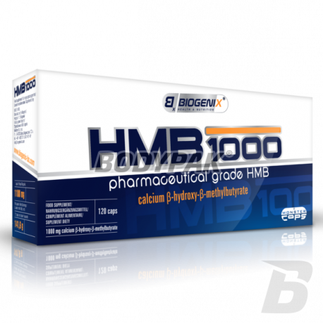 Biogenix HMB 1000 Monster Caps - 120 kaps.