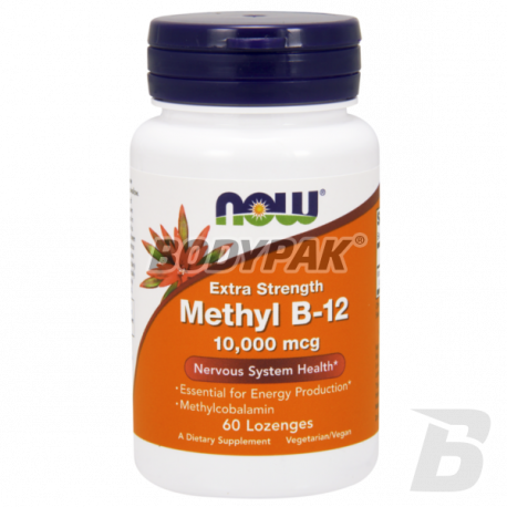 NOW Foods Methyl B-12 10000mcg - 60 kaps.
