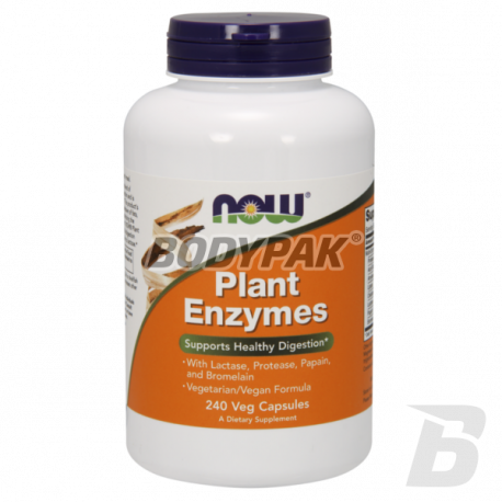 NOW Foods Plant Enzymes - 240 kaps.