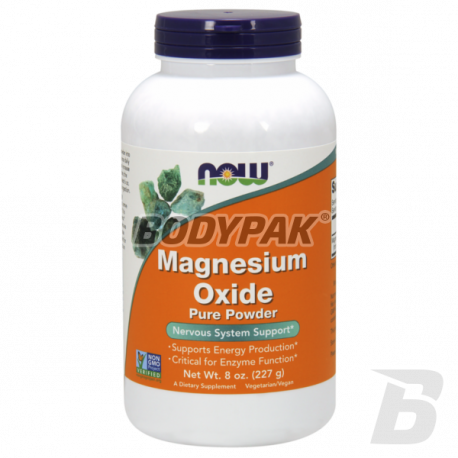 NOW Foods Magnesium Oxide Powder - 227g