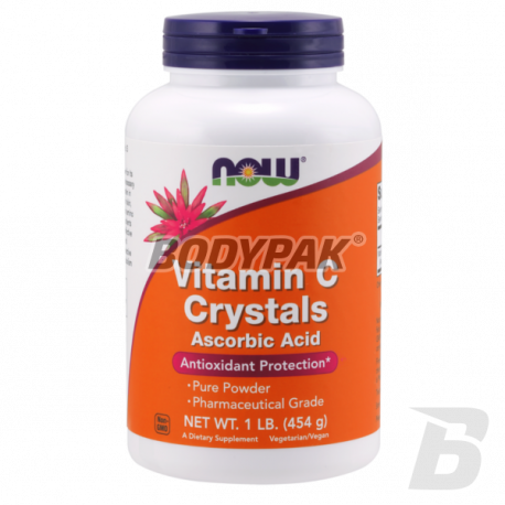 NOW Foods Vitamin C Crystals - 454g