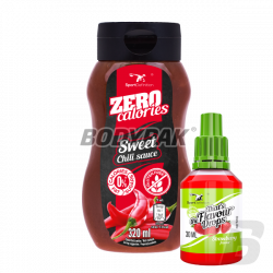 Sport Definition Sauce ZERO [Sweet Chilli] - 320ml + That's the Flavour Drops - 30ml (06.2018) GRATIS!