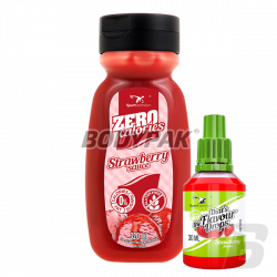 Sport Definition Sauce ZERO [Strawberry] - 320ml + That's the Flavour Drops - 30ml (06.2018) GRATIS!