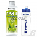 Weider Fresh Up Concentrate - 1000ml + BODYPAK Bidon sportowy 700ml [GRATIS]