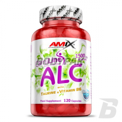 Amix ALC with Taurine & Vitamin B6 - 120 kaps.