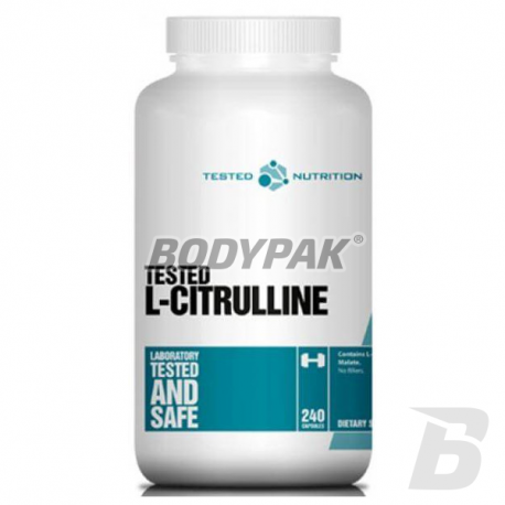 Tested Essentials Citrulline Malate - 240 kaps.